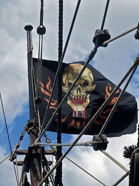 Bandiere pirata ,come erano le bandiere pirata