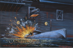 Hunley attacca USS Housatonic