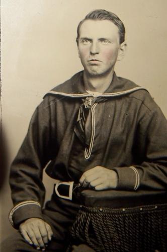 George E. Dixon capitano del Hunley
