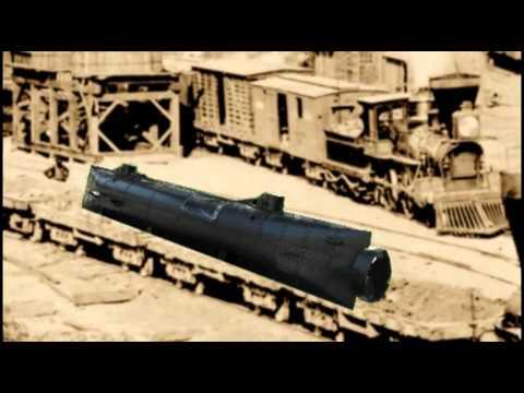 Hunley Traporto in treno