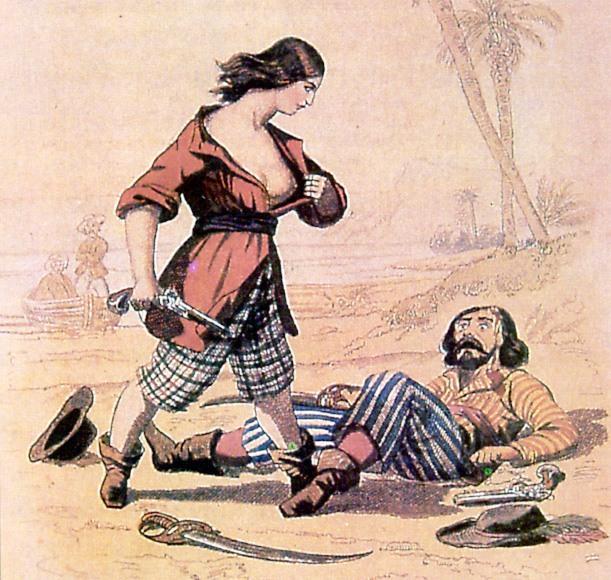 Donne marinaio ,Le donne sotto mentite spoglie  - Mary-Lacy