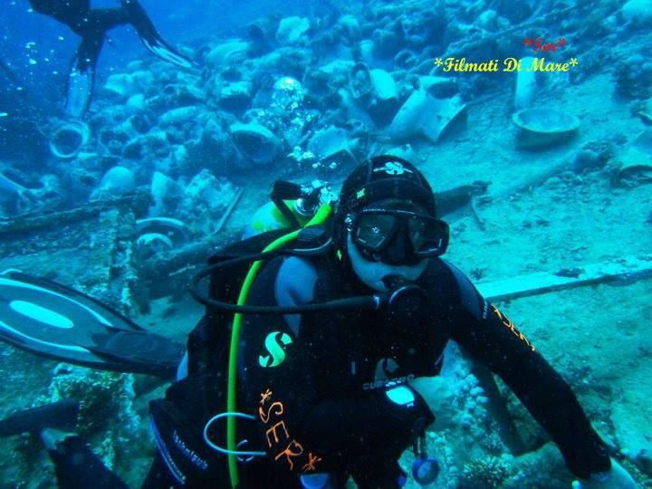 Professionista della subacquea  ,carriera nella subacquea