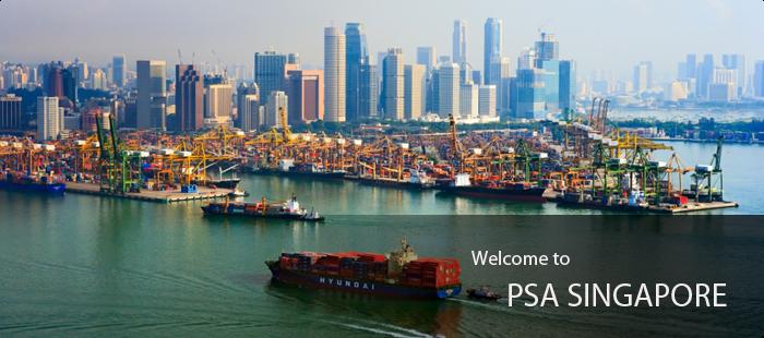 Racconti di mare - Una parte del porto di Singapore