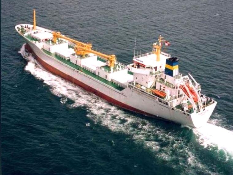 Racconti di mare nave in avaria - Nave frigorifero