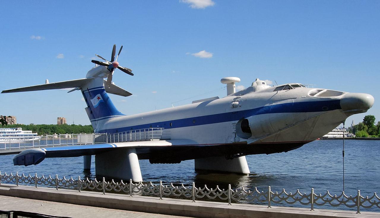 Ekranoplan A90 Orlyonok