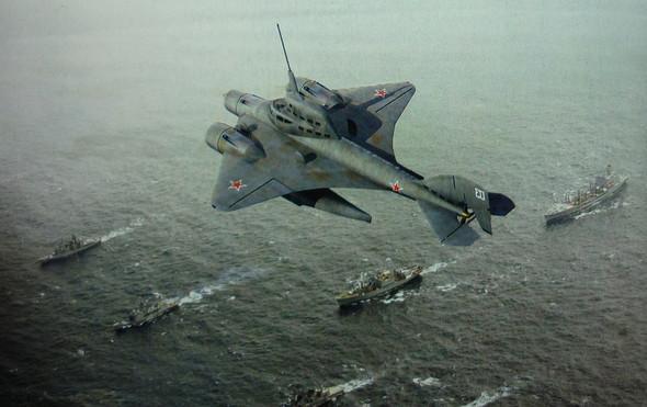 "Illustrazione ""Submarine Volante"" - Летающая подводная лодка» Иллюстрация."