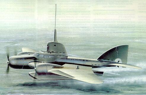 Sommergibile volante d'attacco - Sub_Voador