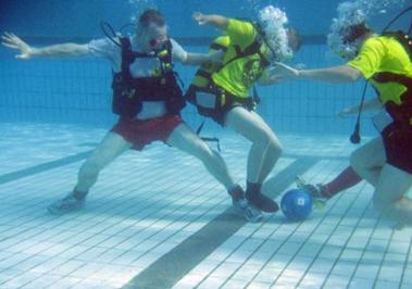Calcio subacqueo ,underwater soccer