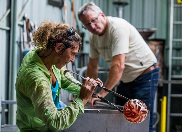 L'arte del vetro soffiato a Lier, Belgio - C